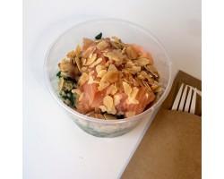 The small lentil salad